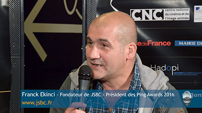 Interview de Franck Ekinci